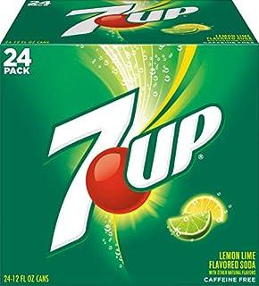 7UP 7UP Lemon Lime Soda, 12 Fl oz (Pack of 24)