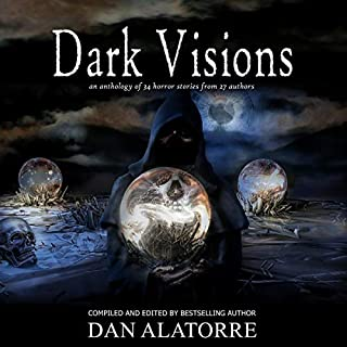 Dark Visions     An Anthology of 34 Horror Stories from 27 Authors. The Box Under the Bed, Volume 2              By:                                                                                                                                 Dan Alatorre,                                                                                        Allison Maruska,                                                                                        Jenifer Ruff,                   and others                          Narrated by:                                                                                                                                 Kasi Hollowell                      Length: 9 hrs and 19 mins     Not rated yet     Overall 0.0