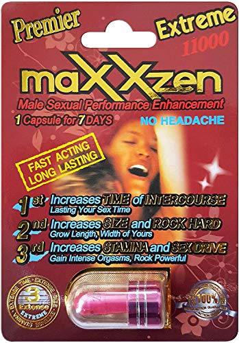 *Best Seller* 100% Authentic Maxxzen Red Extreme11000 Male Performance Enhancement Pill(AND) PROCOMIL DELAY CREAM (SUPER COMBO) (3)PLUS LOVE POTION PEN