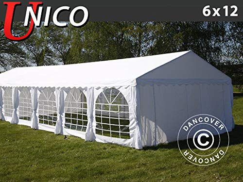 Dancover Partytent UNICO 6x12m, Wit