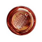 Product: Metal handmade copper plated sarva ichha astha dhatu kachua yantra set/ Vastu feng shui metal turtle tortoise. Material: Metal. Color: Brown (Copper Color). Product dimension: 9 x 9 cm. High quality crystal turtle/tortoise used as home décor...