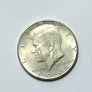 1964 United States of America Kennedy Half Dollar (Silver 90%) #3 Coin Very Good Details