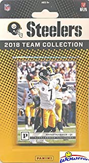 f34775e11ca Pittsburgh Steelers 2018 Panini NFL Football Factory Sealed Limited Edition  12 Card Complete Team Set with