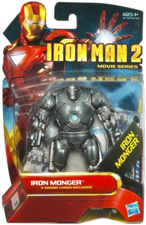 Iron Man 2 Movie 3.75  Action Figures  Iron Monger