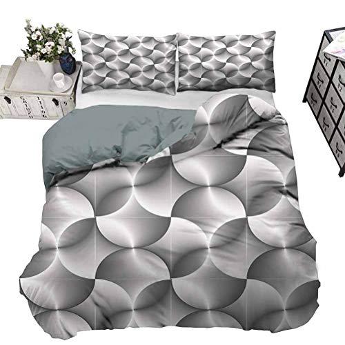 UNOSEKS LANZON - Juego de cama con diseño de calavera, calavera, calavera, sin olor peculiar, respetuoso con el medio ambiente, color rojo, negro y blanco