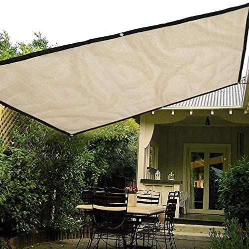 WEARRR Sol Impermeable Refugio Rectángulo Protección de la sombrilla al Aire Libre Senderismo Jardín Sombra Shade Toldo Camping Sombra 1/2/3 X1.8m (Color : 1X1.8m)