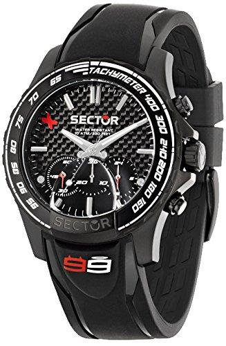 Sector Reloj cronografo para Hombre de Cuarzo con Correa en Caucho R3271677001