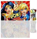 DC Superhero Girls Super Fleece Blanket