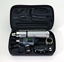 Welch Allyn - 3.5v Diagnostic Set with Coaxial Ophthalmoscope, MacroView Otoscope, Convertible Handle, and Hard Case - -