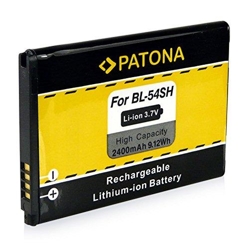 PATONA Bateria BL-54SH para LG Optimus LTE 3 F260 F260K F260S F7 LG870 US870 Net Dual P698 L90 Dual D405