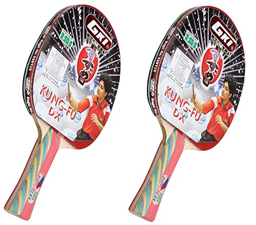 GKI Kung Fu DX Table Tennis Racquet - Pack of 2