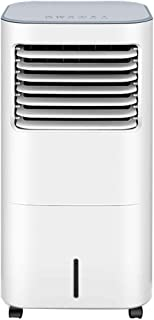 JLN-air conditioner fan Aire Acondicionado Ventilador Suelo de pie Humidificación Móvil Frío Viento Silencio Ruedas Agua Portátil Enfriado, 55w (Tamaño: 38x33x75cm)