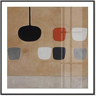 Impressions sur toile encadrées - Art moderne et simple - Art abstrait - Décoration moderne prête à être accrochée - Art m...