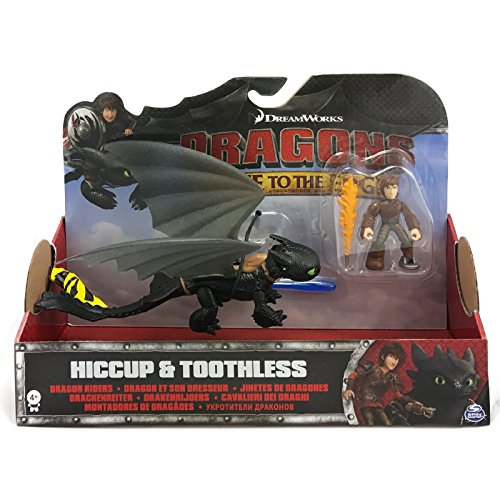 Dragons Race To the Edge Hiccup & Toothless Yellow Tail Version