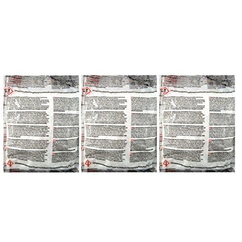 3 Nachfüllpackungen à 450 g für Raumentfeuchter Mini-Set - verhindert Schimmel, Moder, üble Gerüche, Stockflecken - Raum-Entfeuchter