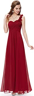 Ever-Pretty Juniors One Shoulder Empire Waist Long Prom...