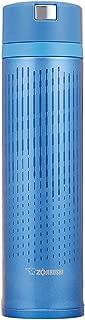 象印 ( ZOJIRUSHI ) 水筒 ステンレスマグ 600ml ウォーターブルー クイックオープン&イージーロック SM-XC60-AL