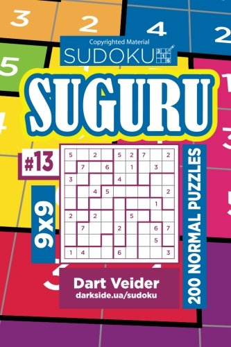 Sudoku Suguru - 200 Normal Puzzles 9x9 (Volume 13)