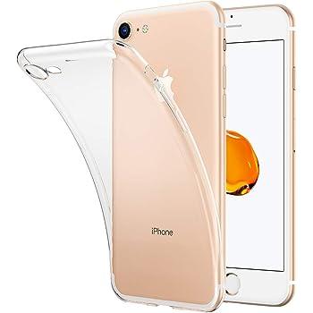 kutolo iPhone8 ケース iPhone7 ケース iPhone 8/7 カバー TPU シリコン ケース 耐衝撃カバー 超薄型Qi充電対応 擦り傷防止 軽量 ソフト クリア全透明 (iPhone 8/7 ケース)