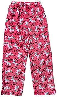 Image of Comfortable Fleece Unicorn Pajama Pants for Girls