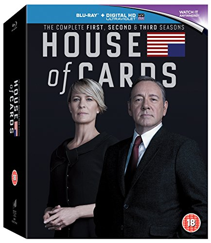 House of Cards - Seasons 1 [Blu-ray]