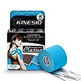 Kinesio KIN/008 - Cinta Classic, color azul