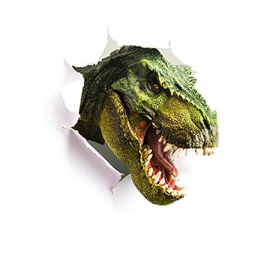 Décoration adhésive 145832 Trompe l'Œil 3D, Polyvinyle, Multicolore, 120 x 0,1 x 120 cm