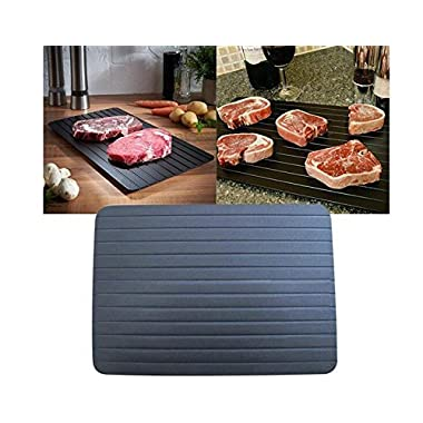 Show Lo Fast Defrosting Tray - The Safest Way to Defrost Meat or Frozen Food Quickly Without Electricity, Microwave, Hot Water or Any Other Tools