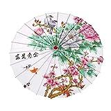 Hankyky Japonais Style Chinois Parapluie Peinture Parasol Parapluie en Papier Décoratif À l'huile pour Classique Cheongsam Danse Parapluie De Photographie Prop