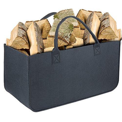 Bolsa Fieltro, Wolintek maderaTote Chimenea Madera