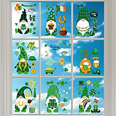 152 Pieces St Patrick's Day Wall Stickers I...