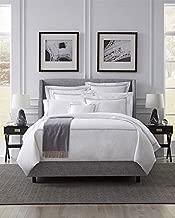 Sferra Grande Hotel White/Grey King Duvet Cover