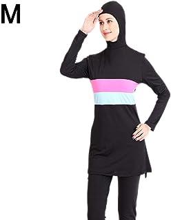 Xingsiyue Arabische Muslimische Badebekleidung Damen Tankini Kurzarm Modest Islamic Badeanzug Konservative Strandkleidung