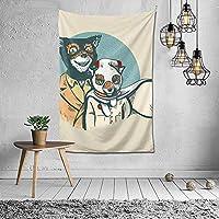 幻想的なミスターフォックス家の装飾ヴィンテージヒッピータペストリー部屋の壁掛け壁画寝室リビングルーム毛布寮ファッション壁アート60x40in