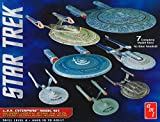 AMT - Kit de maqueta del USS Enterprise de Star Trek - Escala 1:2500, Serie «Cadet»,...