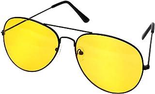 8fa1f3eac1 FUZHISI Gafas de Sol Lentes antideslumbrantes Gafas de Sol de aleación de  Cobre Conductores de automóviles
