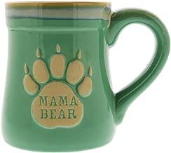 Mama Bear Ceramic Funny Coffee Mug, Nobody Messes with My Cubs, Large Coffee Mug 18 oz, Perfect Mom Gifts