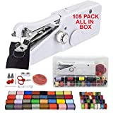 Best Handheld Sewing Machines - 105 PCS Handheld Sewing Machine + Color Thread Review