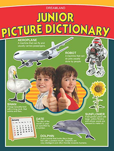 Junior Picture Dictionary Book for Children Age 4 -8 Years, 80 Pages