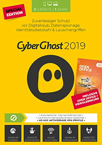 S.A.D. CyberGhost 2019 - 3 Geräte Special Edition