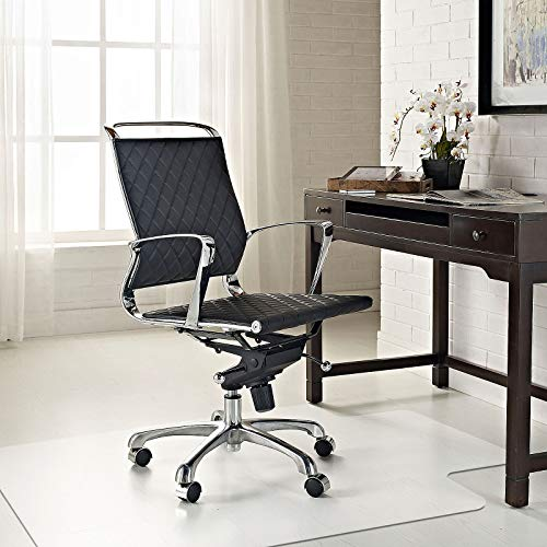 Azadx Office Chair Mat for Hardwood Floor, Clear Hard Floor Chair Mat for Easy Glide and Protection Under Desk Chair (36' x 48' with Lip)