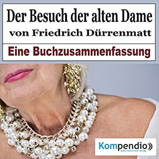 Der Besuch der alten Dame von Friedrich Dürrenmatt: Eine Buchzusammenfassung Titelbild