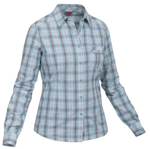 Salewa 00-0000022544 Chemisier à Manches Longues pour Femme Bintsy Dry Bleu 46