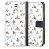 DeinDesign Étui Compatible avec Samsung Galaxy Note 3 Étui Folio Étui magnétique Winnie l'ourson...