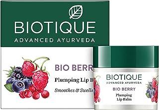 Biotique Bio Berry Plumping Lip Balm, 12g (Pack of 5)