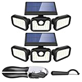 Solar Security Lights 2 Pack and ZEVEZ 4-in-1 Can Opener and Vegetable Peeler Today's Deal