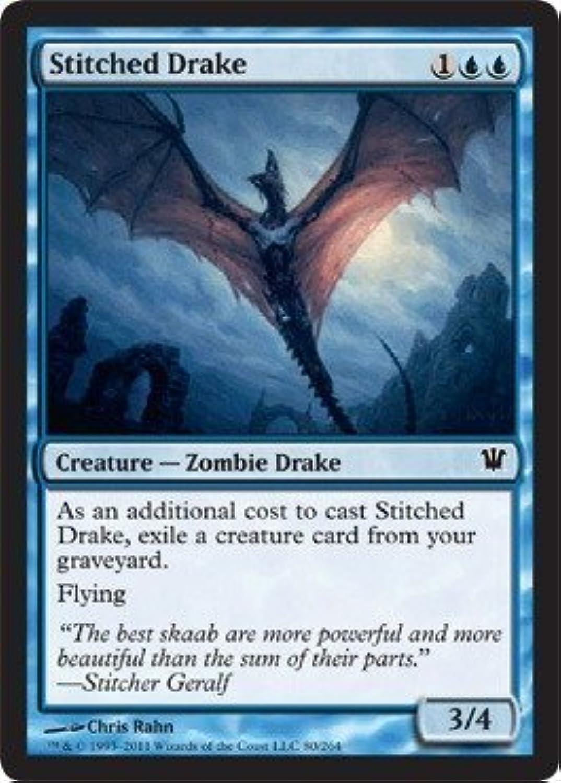 Magic  the Gathering - Stitched Drake - Innistrad - Foil by Magic  the Gathering B01GDO9XEK Zart  | Spielzeugwelt, glücklich und grenzenlos