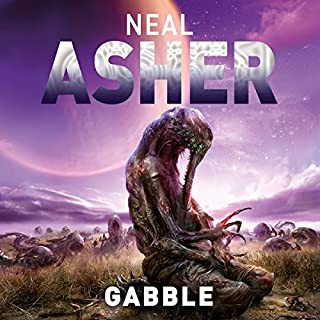 The Gabble - and Other Stories                   By:                                                                                                                                 Neal Asher                               Narrated by:                                                                                                                                 Ric Jerrom                      Length: 13 hrs and 20 mins     22 ratings     Overall 4.7
