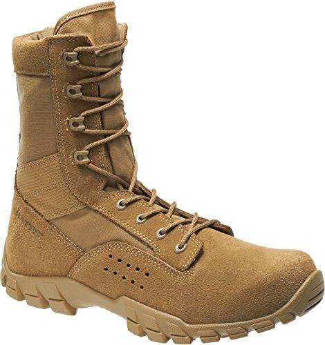 Bates 22680 Mens Cobra 8' Coyote Side Zip Hot Weather Jungle Boot 8.5 3E US