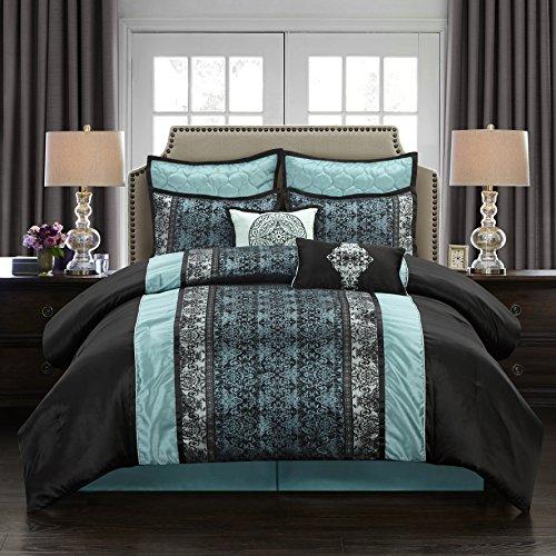 Lowest Price! Nanshing America Stratford Park Arabesque 8- Piece Bedding Set- California King